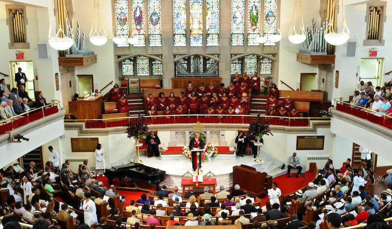 church service