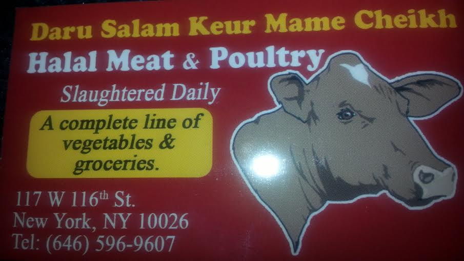 Daru Salam Kuer  Mame Cheikh Halal Meat & Poultry