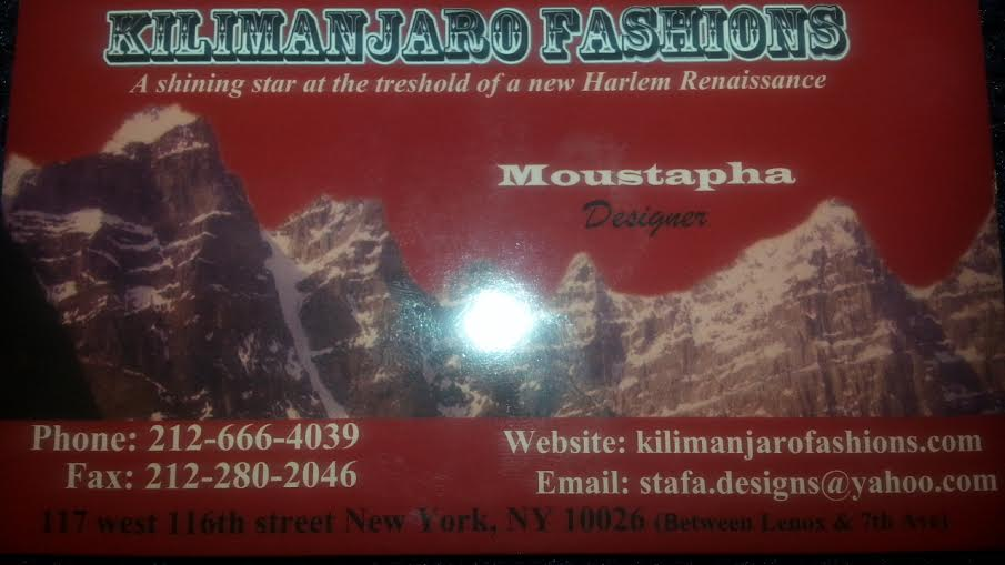 Kilimajaro Fashions
