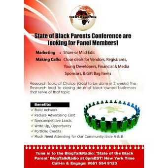 'State of the Black Parent'/  Souvenirs & Appreciation